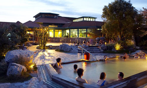A Post Race Spa Like No Other!